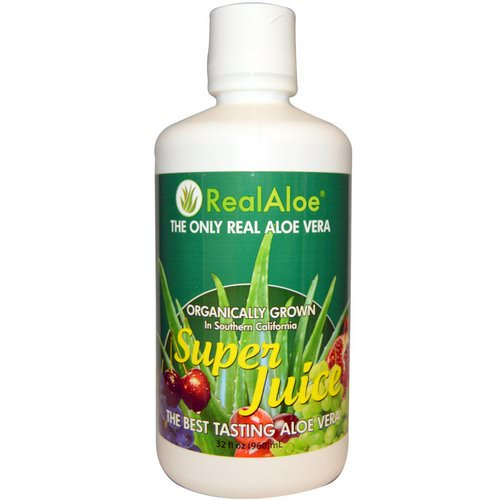 Real Aloe, Aloe Vera Super Juice, 32 fl oz (960 ml) Review
