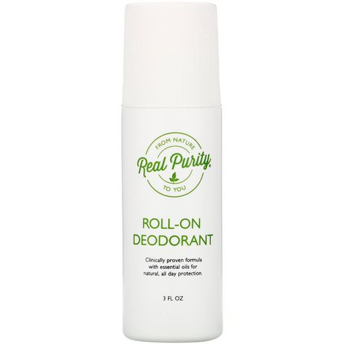 Real Purity, Roll-On Deodorant, 3 fl oz Review