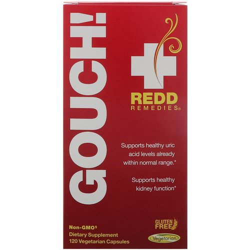 Redd Remedies, Gouch, 120 Vegetarian Capsules Review