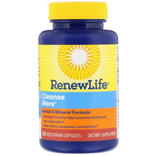 Renew Life, Cleanse More, 60 Vegetarian Capsules Review