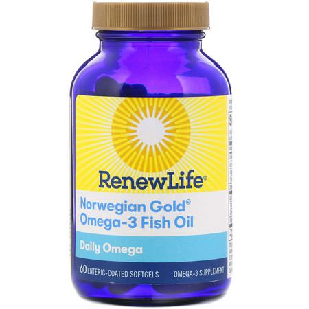 Renew Life, Omega-3 Fish Oil