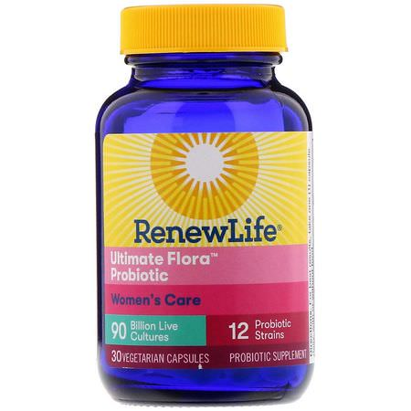 Renew Life, Probiotic Formulas, Women's Health