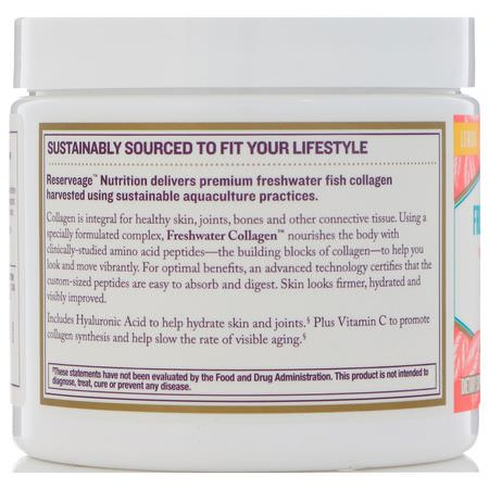 Reserveage Nutrition, Collagen Supplements