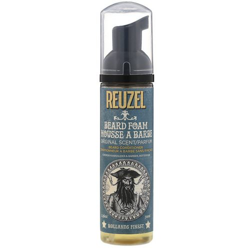 Reuzel, Beard Foam, Conditioner, Original Scent, 2.36 oz (70 ml) Review