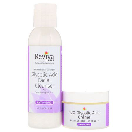 Reviva Labs, Face Wash, Cleansers, Treatments, Serums