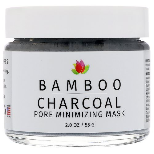 Reviva Labs, Bamboo Charcoal, Pore Minimizing Mask, 2 oz (55 g) Review