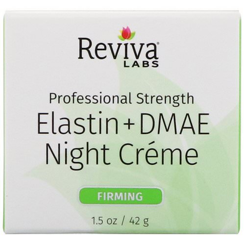 Reviva Labs, Elastin + DMAE Night Creme, 1.5 oz (42 g) Review