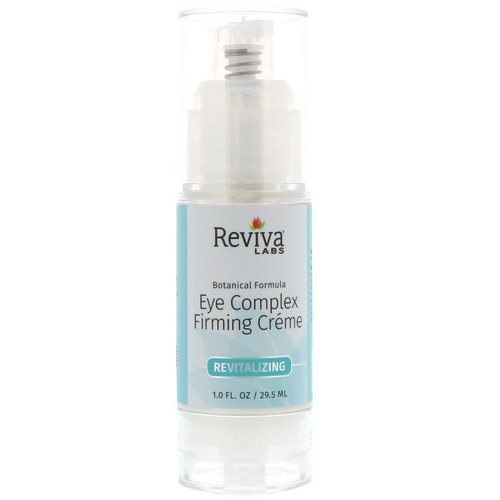 Reviva Labs, Eye Complex Firming Creme, 1.0 fl oz (29.5 ml) Review