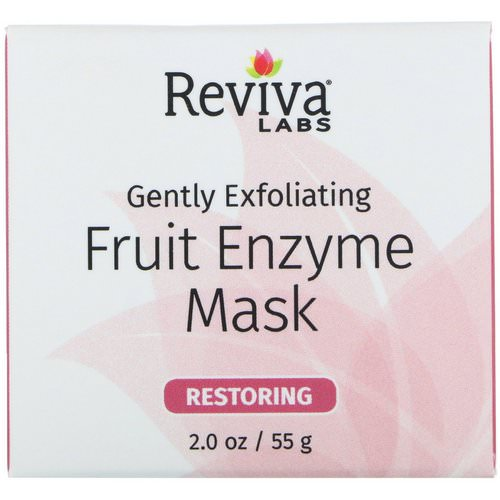 Reviva Labs, Gently Exfoliating, Fruit Enzyme Mask, 2.0 oz (55 g) Review