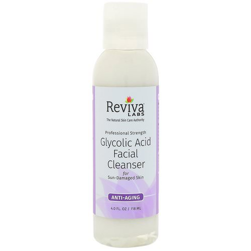 Reviva Labs, Glycolic Acid Facial Cleanser, 4 fl oz (118 ml) Review