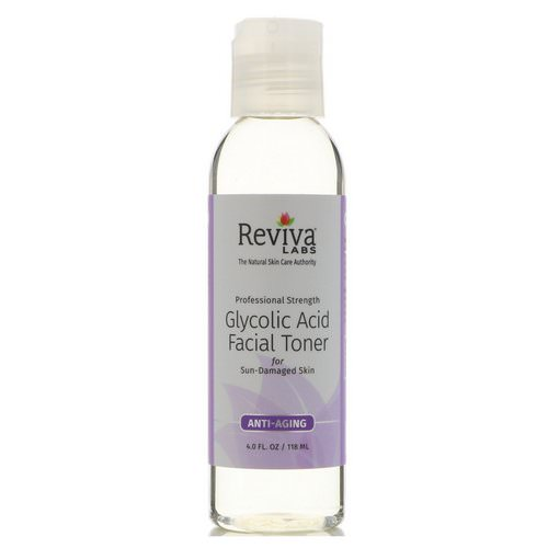Reviva Labs, Glycolic Acid Facial Toner, 4 fl oz (118 ml) Review