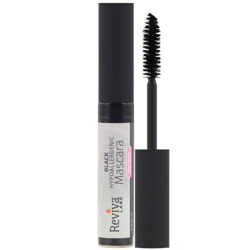 Reviva Labs, Hypoallergenic Mascara, Black, 0.25 oz (7 g) Review