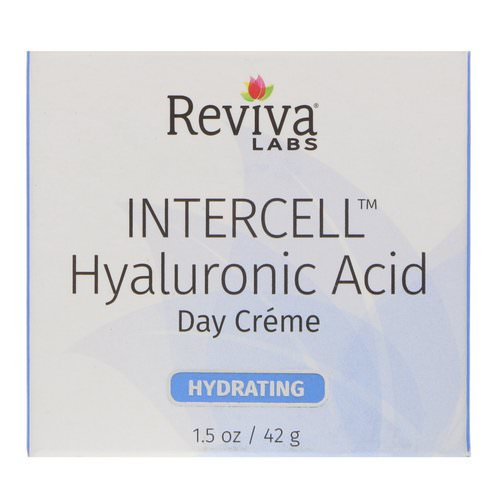 Reviva Labs, InterCell, Hyaluronic Acid Day Cream, 1.5 oz (42 g) Review