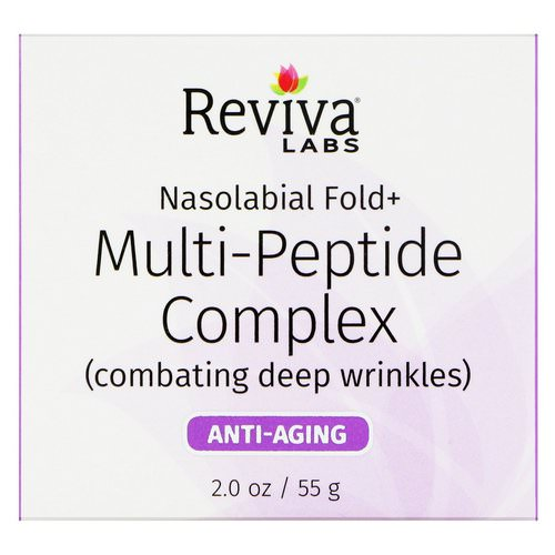 Reviva Labs, Nasolabial Fold+, Multi-Peptide Complex, 2 oz (55 g) Review