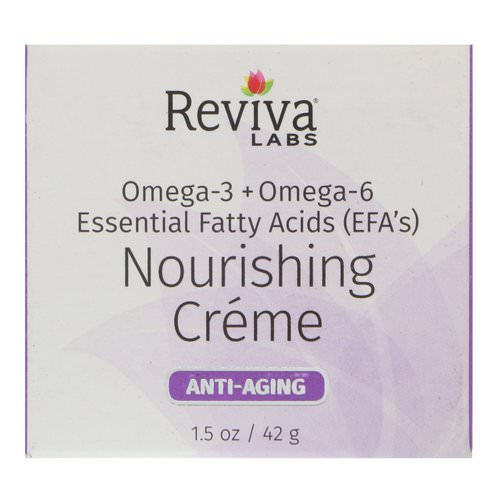 Reviva Labs, Nourishing Cream, 1.5 oz (42 g) Review