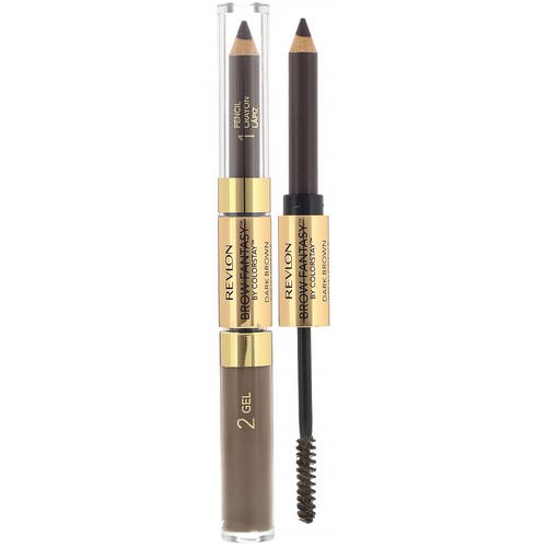Revlon, Brow Fantasy, 106 Dark Brown, 0.011 oz (0.31 g) / 0.04 fl oz (1.18 ml) Review