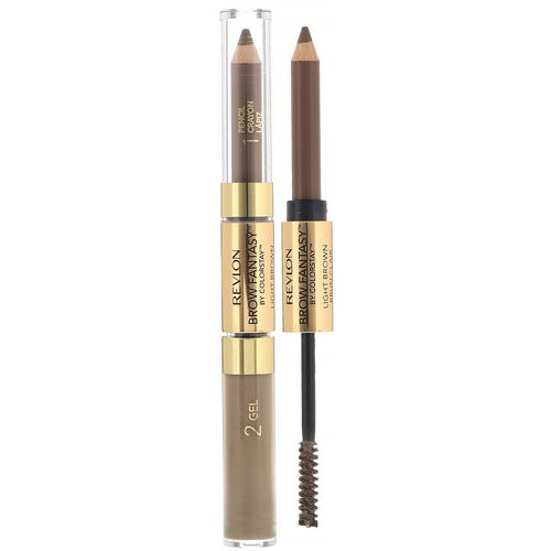 Revlon, Brow Fantasy, 108 Light Brown, 0.011 oz (0.31 g) / 0.04 fl oz (1.18 ml) Review