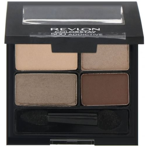 Revlon, Colorstay, 16-Hour Eye Shadow, 500 Addictive, .16 oz (4.8 g) Review