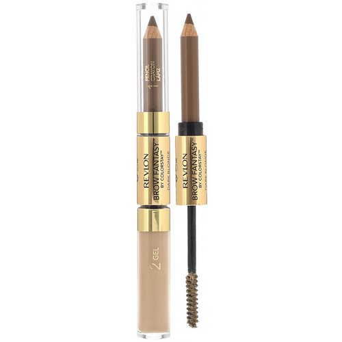 Revlon, ColorStay, Brow Fantasy, 104 Dark Blonde, 0.011 oz (0.31 g) / 0.04 fl oz (1.18 ml) Review