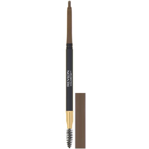 Revlon, Colorstay, Brow Pencil, 210 Soft Brown, 0.012 oz (0.35 g) Review