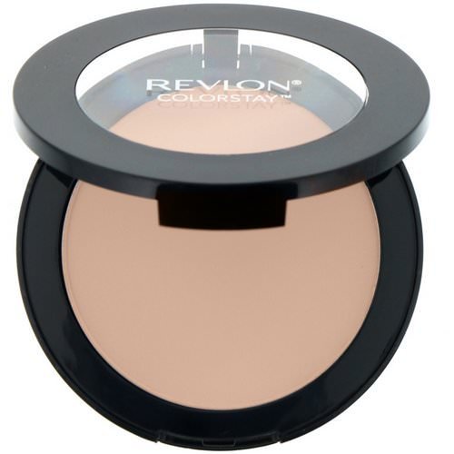 Revlon, Colorstay, Pressed Powder, 820 Light, 0.3 oz (8.4 g) Review