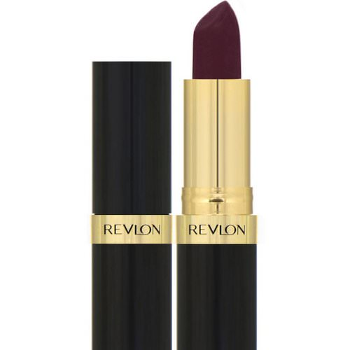 Revlon, Super Lustrous, Lipstick, Creme, 477 Black Cherry, 0.15 oz (4.2 g) Review