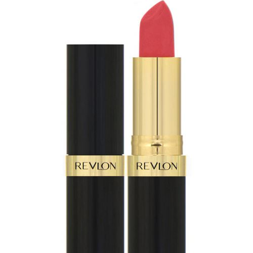 Revlon, Super Lustrous, Lipstick, Creme, 674 Coral Berry, 0.15 oz (4.2 g) Review