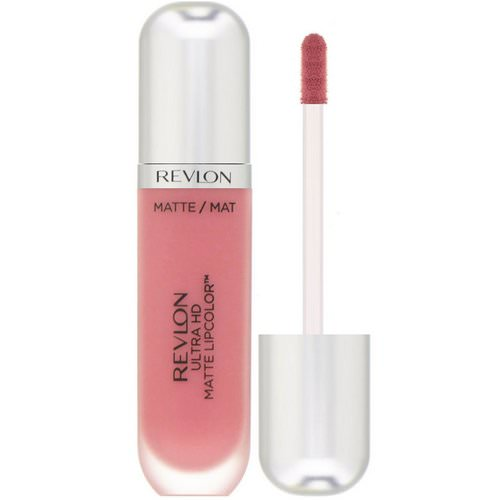 Revlon, Ultra HD Matte, Lipcolor, 600 Devotion, 0.2 fl oz (5.9 ml) Review