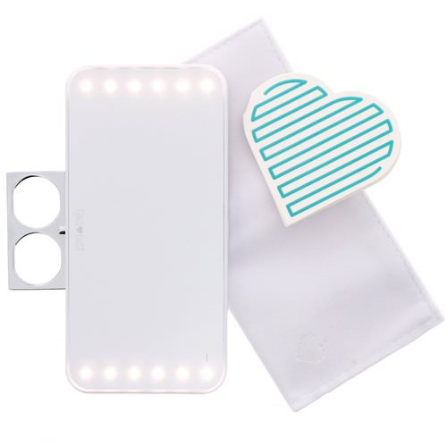 Riki Loves Riki, Riki Cutie, Mini Wearable Lighted Beauty Mirror, 1 Count Review