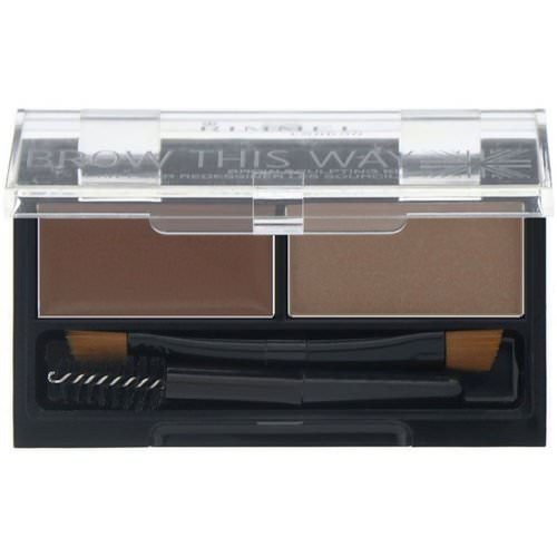 Rimmel London, Brow This Way Brow Sculpting Kit, 001 Blonde, 1 Kit Review