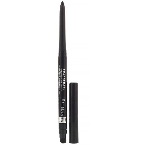 Rimmel London, Exaggerated Eye Definer, 262 Blackest Black, .009 oz (.28 g) Review