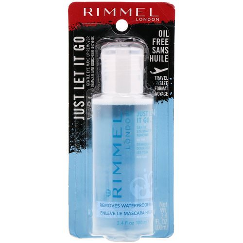 Rimmel London, Just Let It Go Gentle Eye Make Up Remover, Oil Free, 3.4 fl oz (100 ml) Review