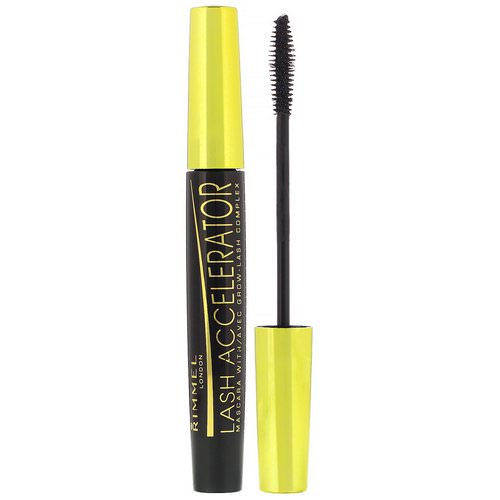 Rimmel London, Lash Accelerator Mascara, 003 Extreme Black, .23 fl oz (7 ml) Review