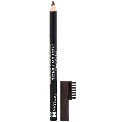 Rimmel London, Professional Eyebrow Pencil, 001 Dark Brown, .05 oz (1.4 g) Review