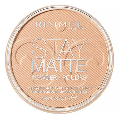 Rimmel London, Stay Matte Pressed Powder, Lightweight Mattifying, 004 Sandstorm, 0.49 oz (14 g) Review