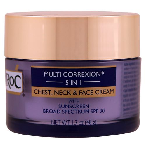 RoC, Multi Correxion 5 in 1, Chest, Neck & Face Cream, 1.7 oz (48 g) Review
