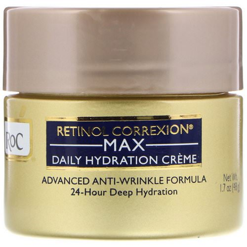 RoC, Retinol Correxion, Max Daily Hydration Creme, 1.7 oz (48 g) Review