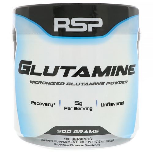 RSP Nutrition, Micronized Glutamine Powder, 17.6 oz (500 g) Review