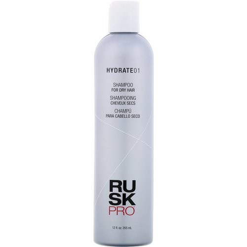 Rusk, Pro, Hydrate 01, Shampoo, For Dry Hair, 12 fl oz (355 ml) Review