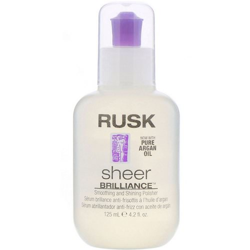 Rusk, Sheer Brilliance, Smoothing And Shining Polisher, 4.2 fl oz (125 ml) Review