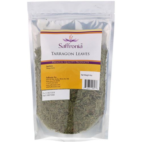 Saffronia, Tarragon Leaves, 4 oz Review