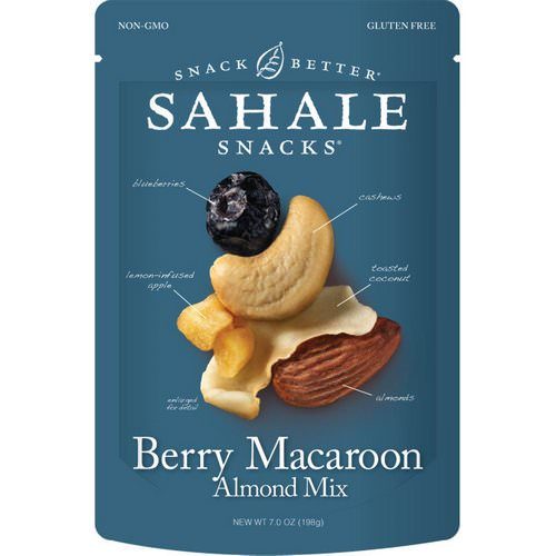 Sahale Snacks, Berry Macaroon Almond Mix, 7 oz (198 g) Review