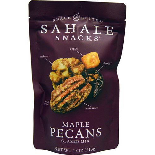 Sahale Snacks, Glazed Mix, Maple Pecans, 4 oz (113 g) Review