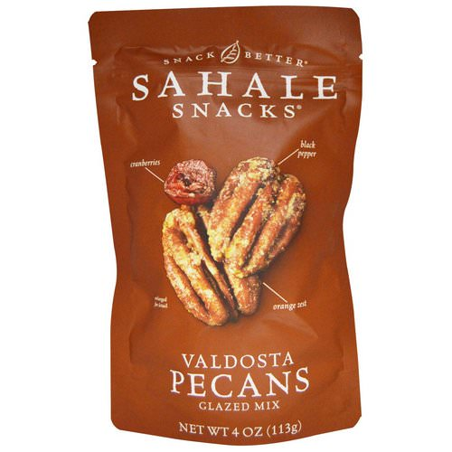 Sahale Snacks, Glazed Mix, Valdosta Pecans, 4 oz (113 g) Review