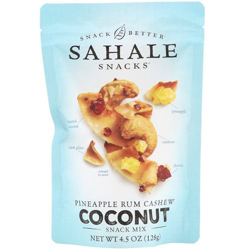 Sahale Snacks, Snack Mix, Pineapple Rum Cashew Coconut, 4.5 oz (128 g) Review