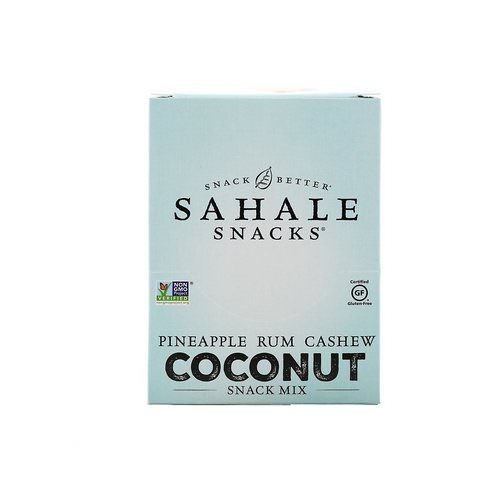 Sahale Snacks, Snack Mix, Pineapple Rum Cashew Coconut, 7 Packs, 1.5 oz (42.5 g) Each Review