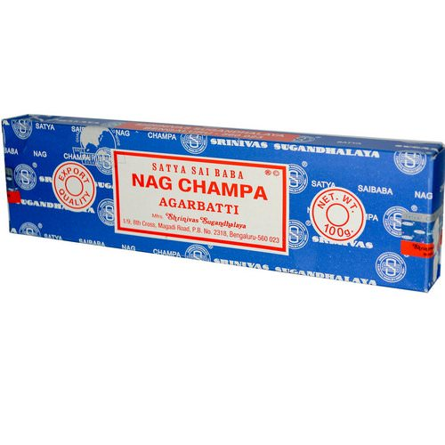 Sai Baba, Satya, Nag Champa, Agarbatti Incense Sticks, 100 g Review