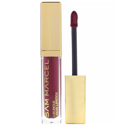 Sam Marcel, Luxurious Liquid Lipstick, Bijou, 0.185 fl oz (5.50 ml) Review