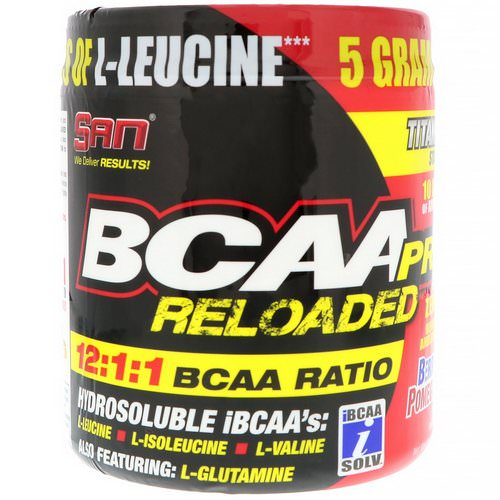 SAN Nutrition, BCAA-Pro Reloaded, Berry Pomegranate, 4 oz (114.7 g) Review