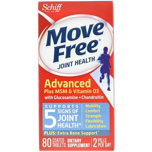 Schiff, Move Free, Joint Health, 80 Coated Tablets Review